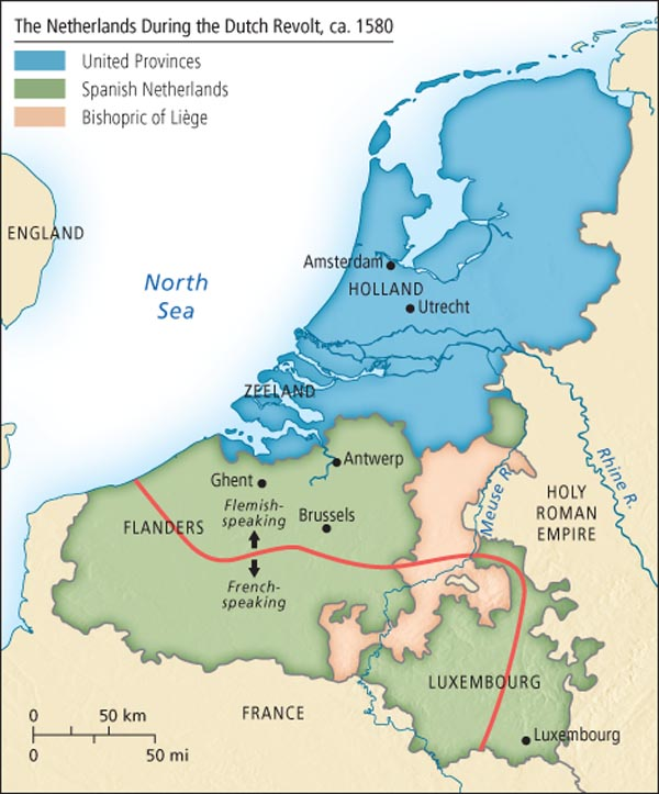 dutch revolt The dutch revolt (1566 or 1568–1648) was the successful revolt of the northern, largely protestant seven provinces of the low countries against the rule of the roman catholic king philip ii of spain , hereditary ruler of the provinces.