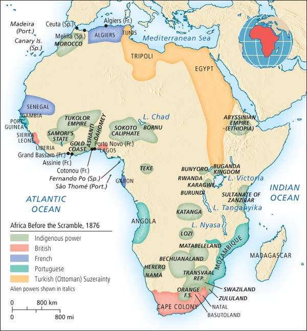 Thoughts About K4D: The Scramble for Africa and the Modern
