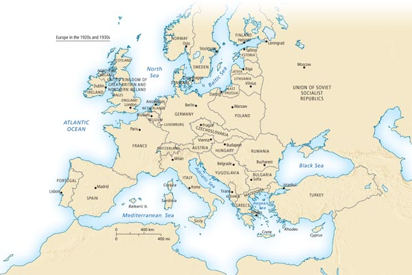 Europe in the 1920s and 1930s