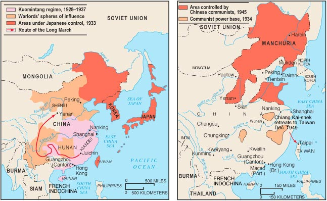 China In Civil War And Revolution