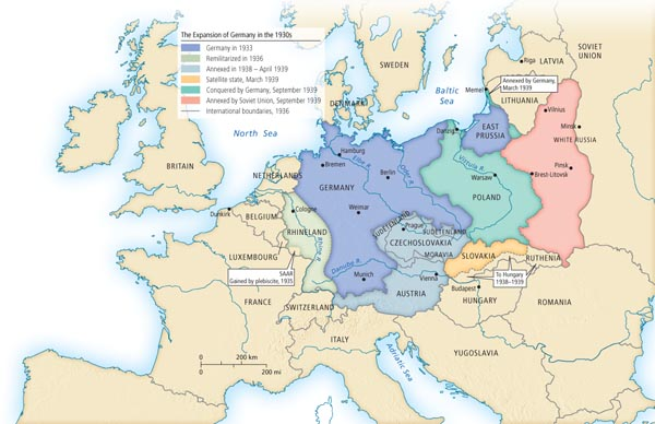 The Expansion of Germany in ...