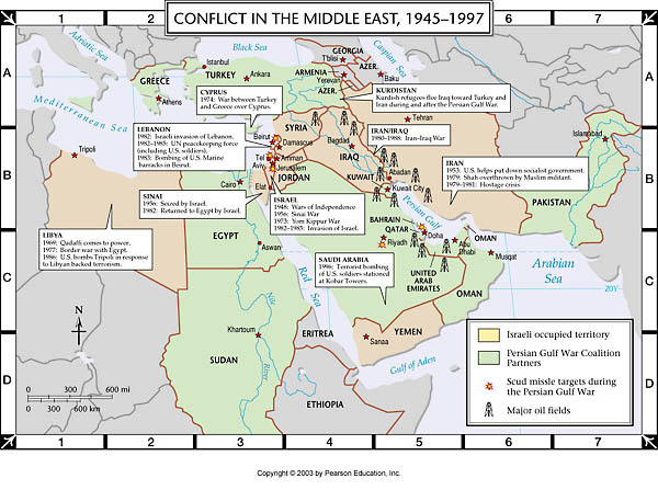 Map of palestine and israel conflict essay